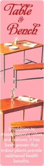 テーブル ベンチ ウッド アイアン|インテリア 雑貨
